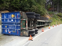 Police investigating truck accident in Sitka