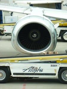 6-10-12 Alaska Airlines jet at Juneau Airport 3
