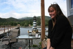 Ember Livingston recently moved to Sitka, but prior to the move, she ran the Problem Corner Cafe. (KCAW photo by Ed Ronco)