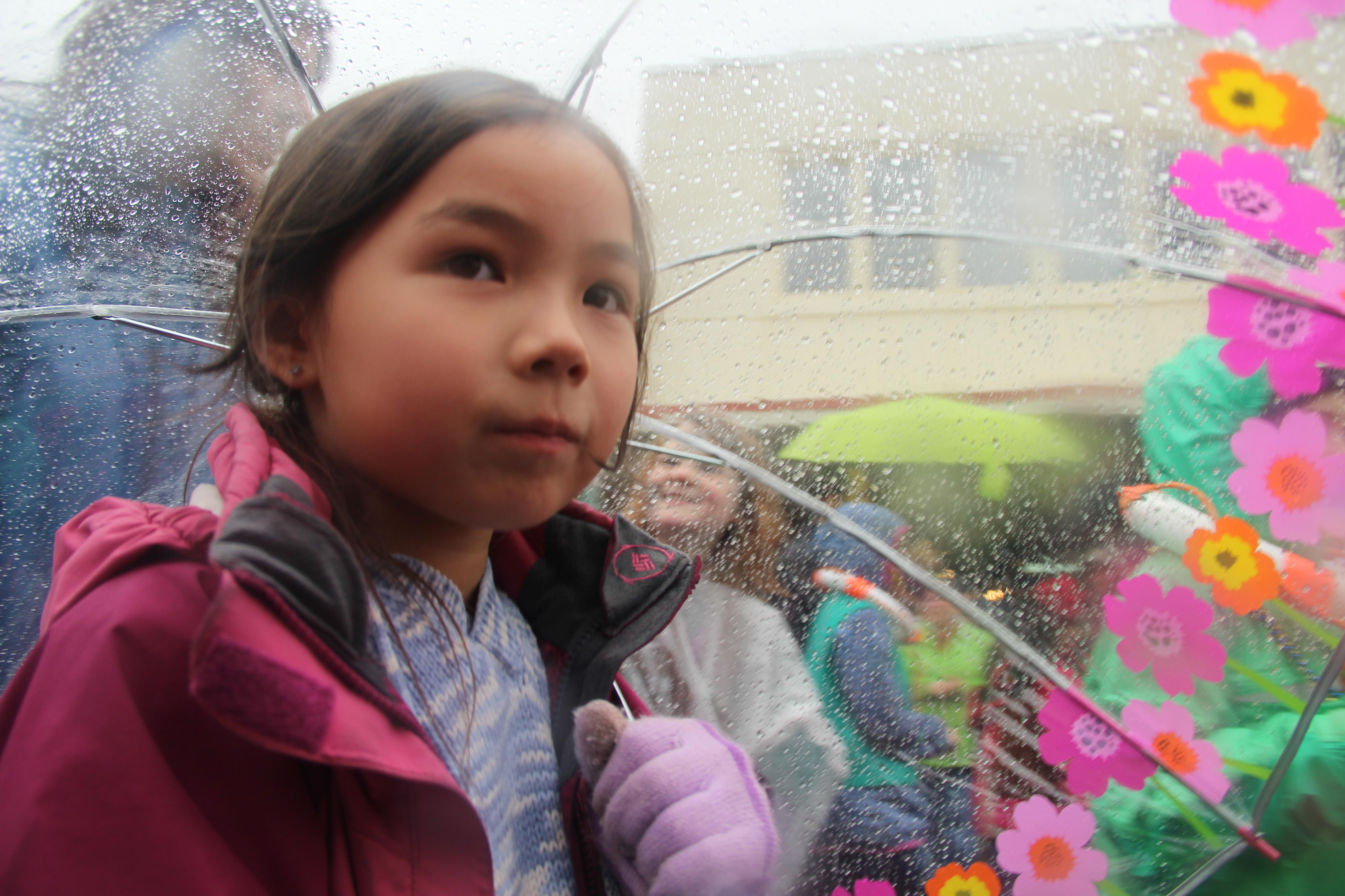 Wet Alaska Day does nothing to dampen spirits