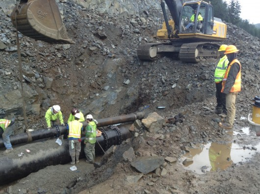 Water main rupture draws attention to Sitka's backup plan