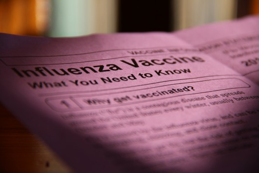 Alaska public health centers offer free flu vaccinations