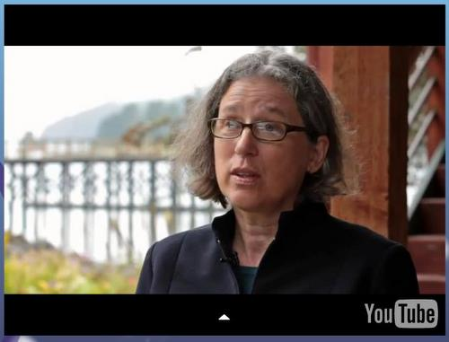 """Whale biologist Jan Straley is featured in the short film """"Northern Wake"""" by Lou Douros."""