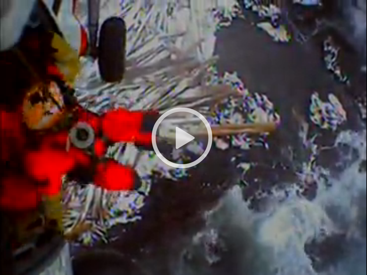 VIDEO: Coast Guard helicopter rescues two near Kruzof Island