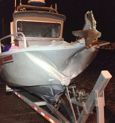 Two Sitka hunters injured as boat strikes cliff