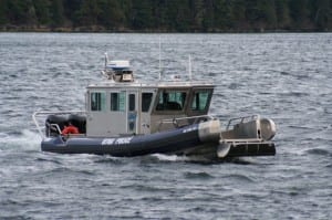 Sitka's ERV is a SAFE Boat design favored by the Coast Guard and other agencies. (Don Kluting photo)