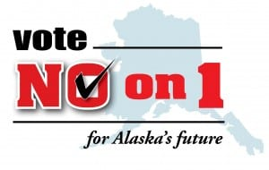 The Vote No on 1 Coalition argues that Alaska's old tax structure made it less competitive than other oil producing areas in the US and around the world.