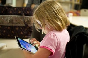The Sitka School District envisions tablets for students in the elementary grades, and laptops for older students. (Flickr photo/Devon Christopher Adams}