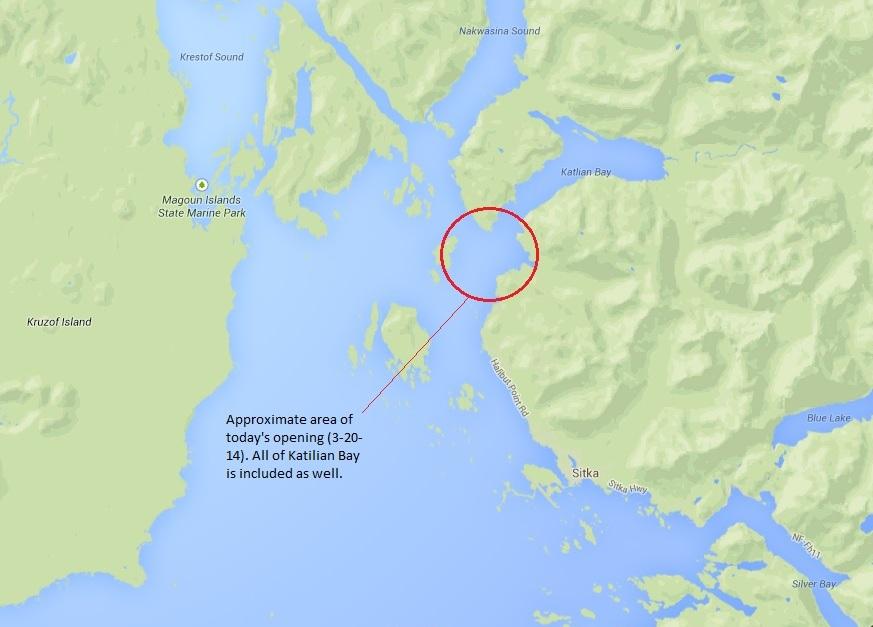 ADF&G to open herring fishing in Starrigavan, Katlian bays