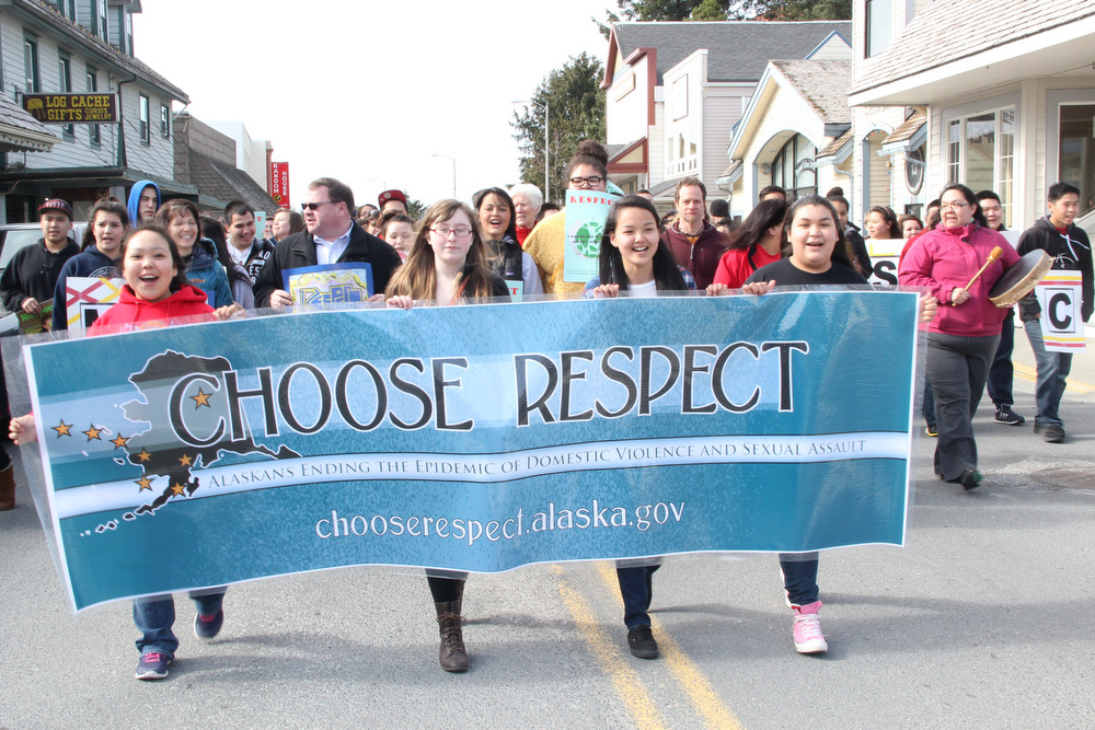 March for R-E-S-P-E-C-T