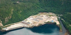 """""""We're open for business,"""" said Charles Horan of Sitka's industrial site. (SCIP photo)"""