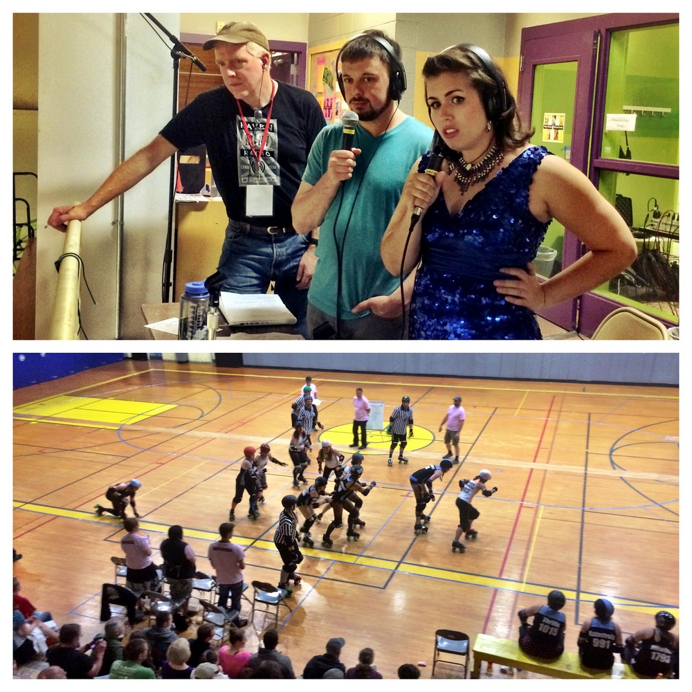 Did you miss the Roller Derby Bout? Listen here!