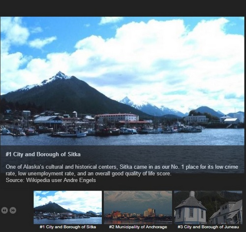Online realtor says Sitka tops state in liveability