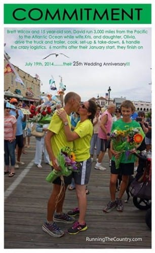 The family concluded its epic run on July 19, 2014, Brett and Kris's 25th wedding anniversary.