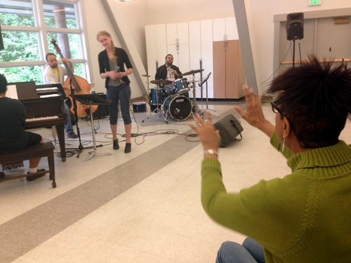 Daniels pushes students to bring jazz to life