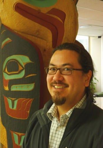 Sealaska Board Chairman Joe Nelson poses at corporate headquarters in Juneau. Nelson was chosen as the new chairman following Sealaska's annual meeting June 28 near Seattle. ( Ed Schoenfeld/CoastAlaska News)