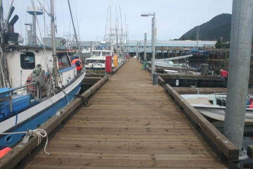 ANB Harbor docks(KCAW photo/Greta Mart)