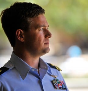 Although Lt. Lance Leone wasn't found responsible for the crash of CG6017, he was held accountable. The unmarked wires his helicopter struck were later removed by the Coast Guard. (CIR photo)