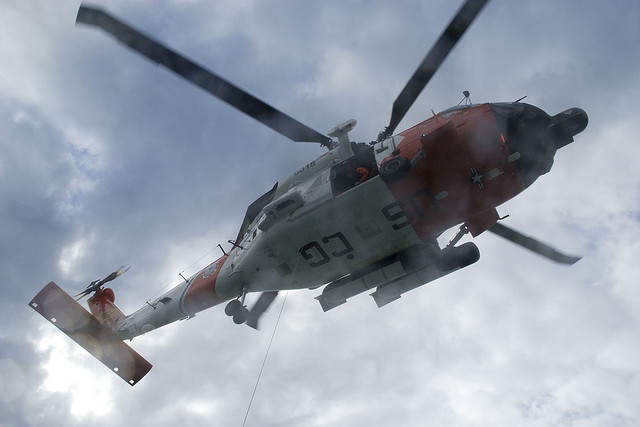 Coast Guard crew locates missing man near Haines