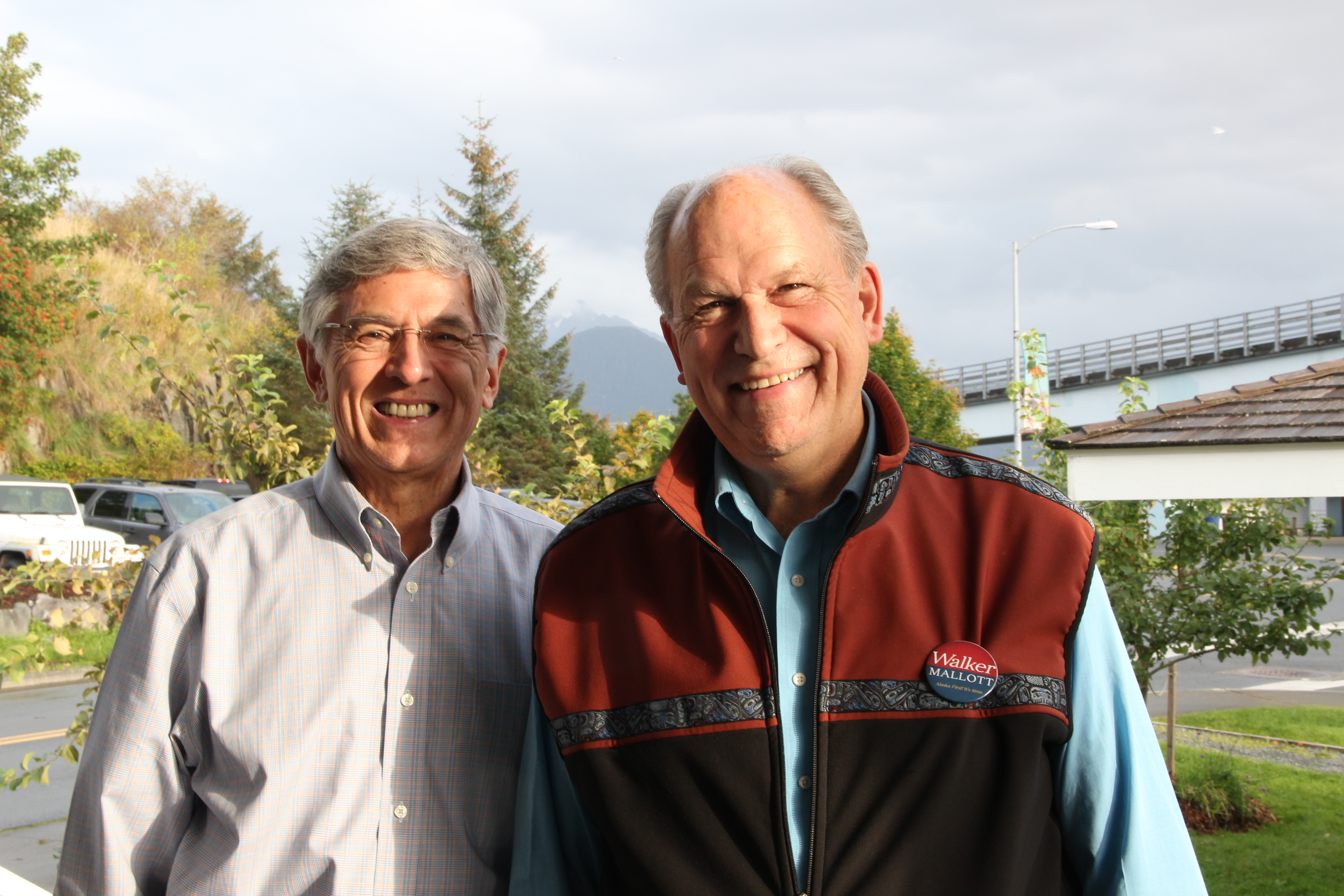 Gubernatorial tickets lay out differences in Sitka