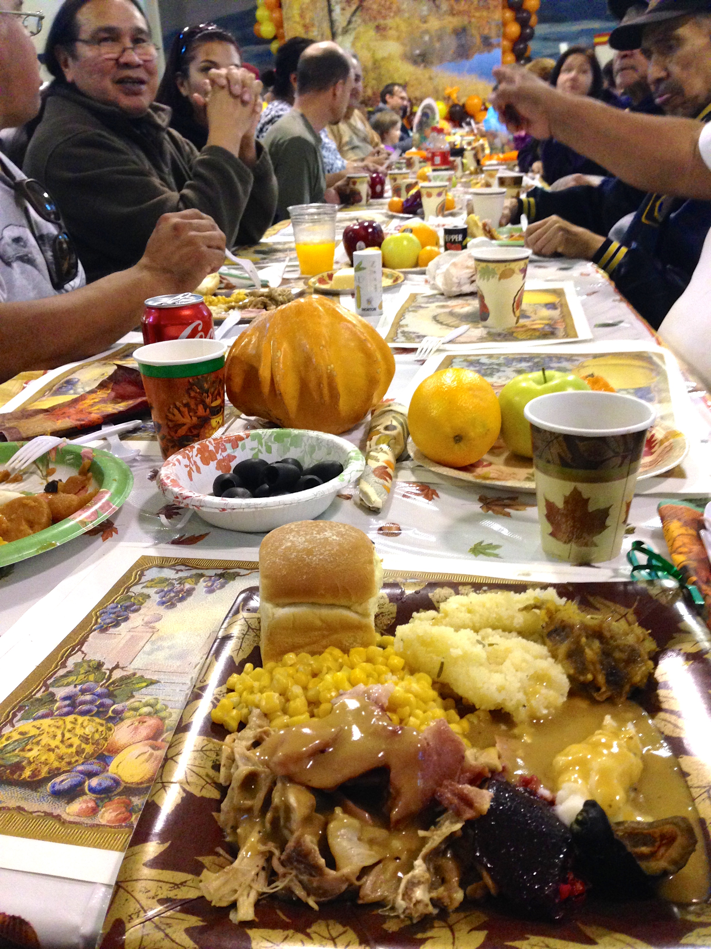 Community Thanksgiving, art reception round out Native American Heritage Month