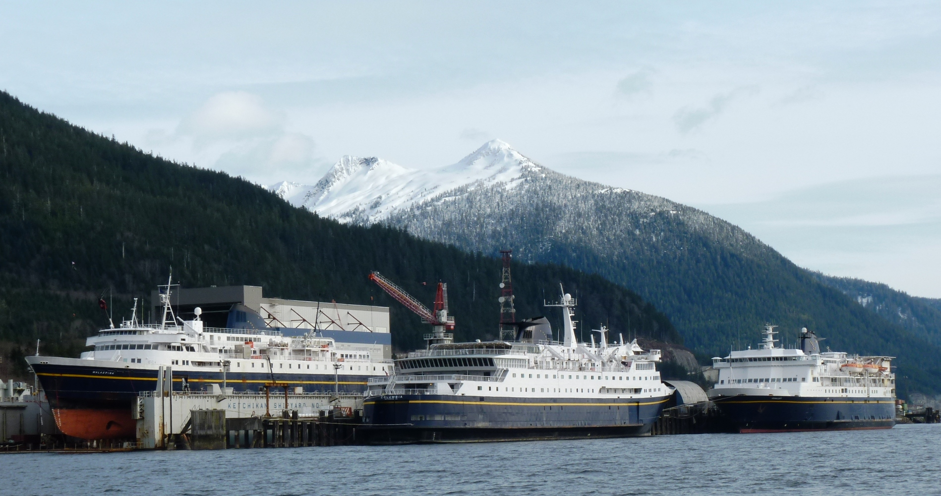 Southeast's year in review: ferries, logging and mining