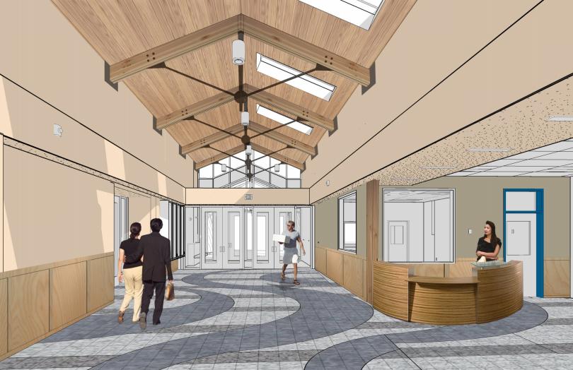 Harrigan Centennial Hall renovation will go out to bid