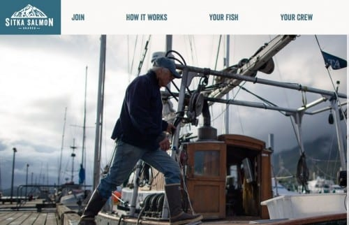 Sitka fisherman Spencer Severson owns one of eleven vessels which supply Sitka Salmon Shares.