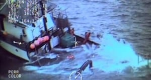 The Kupreanof's captain reported that one crew member was older, and not a good swimmer. (USCG image)