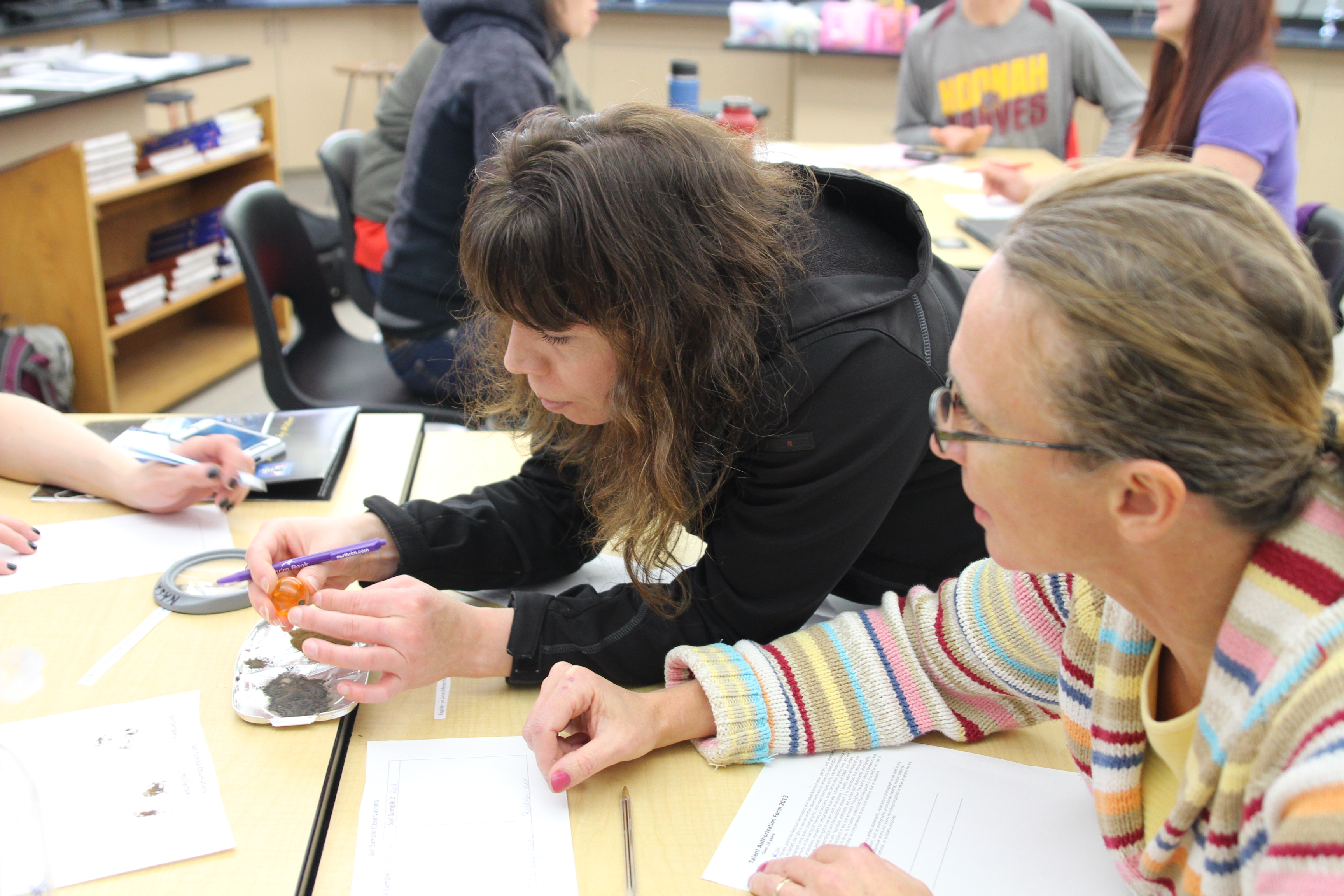 Teachers confer about math, science - KCAW