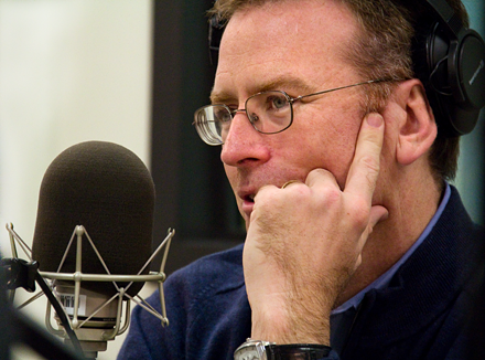 NPR's Steve Inskeep has a message for listeners