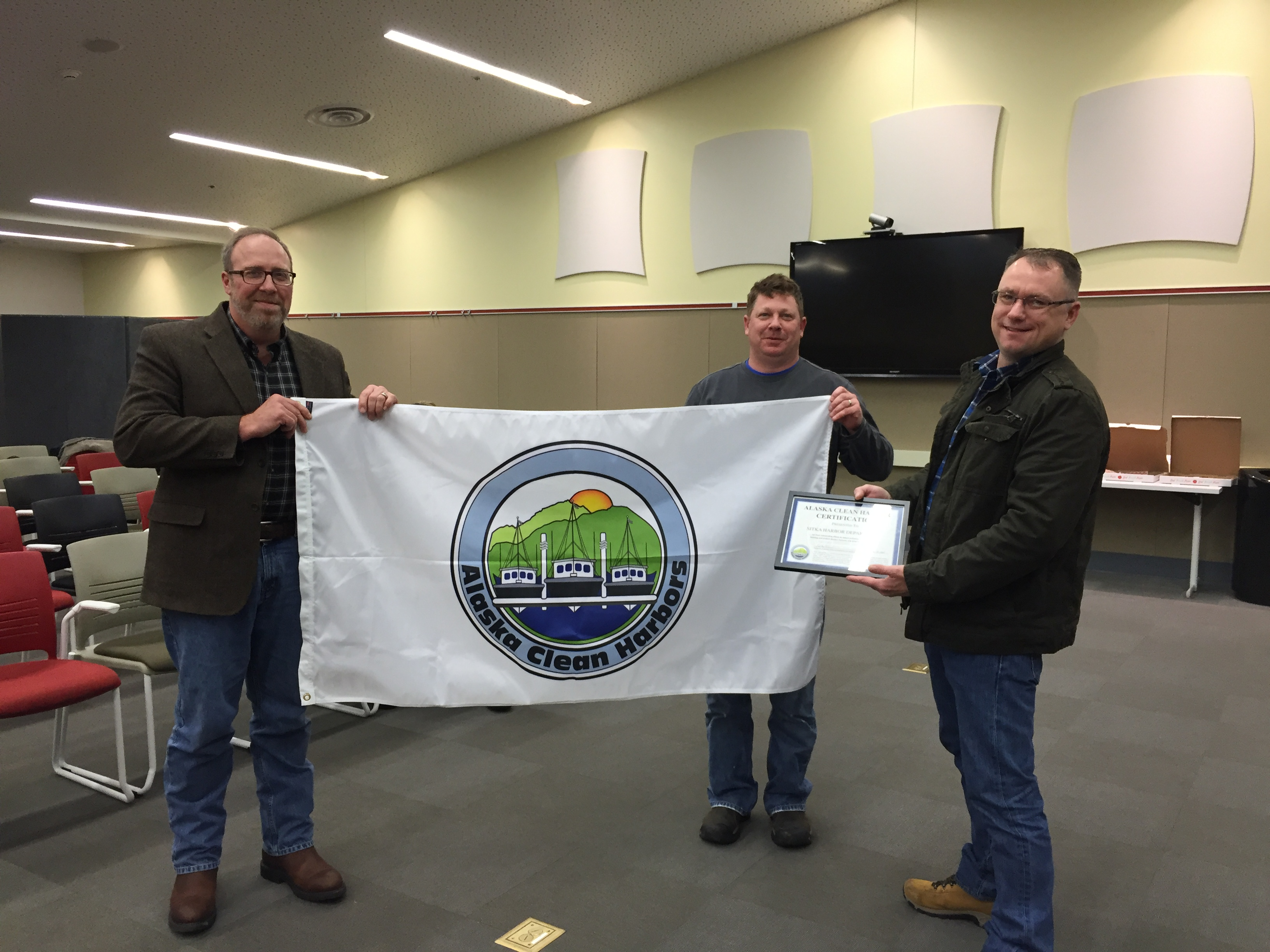 Sitka wins clean harbor certification