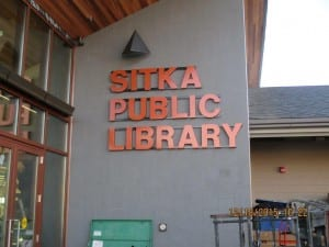 The expanded Sitka Public Library will open on February 1. Critics of government spending continue to point to major capital projects such as the library and the Performing Arts Center as being beyond Sitka's means to maintain. (KCAW photo/Bill Foster)