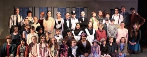 """The cast of the YPT's 2015 performance of """"Annie."""""""