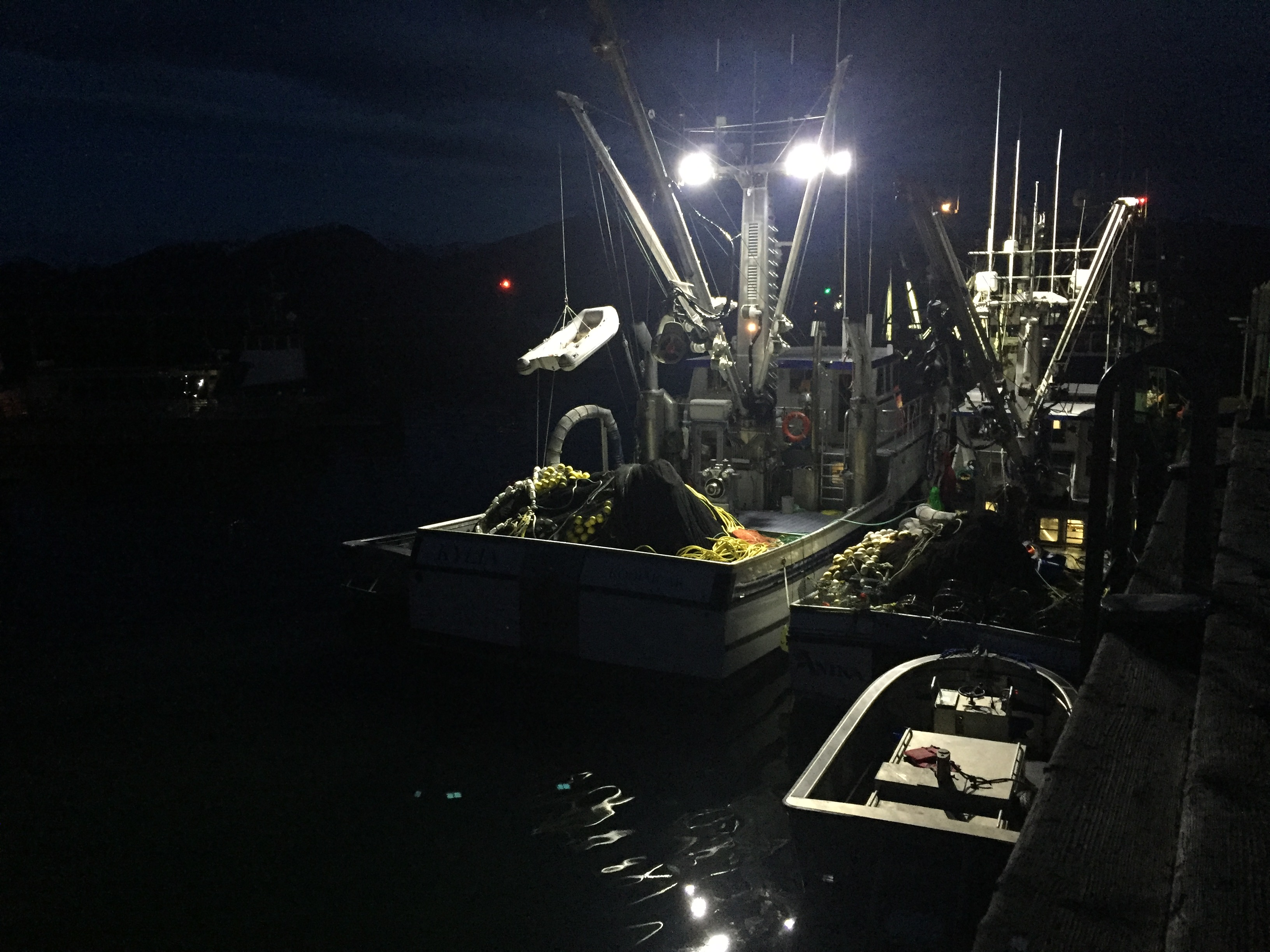 Herring fleet fishes Krestof; half of quota taken