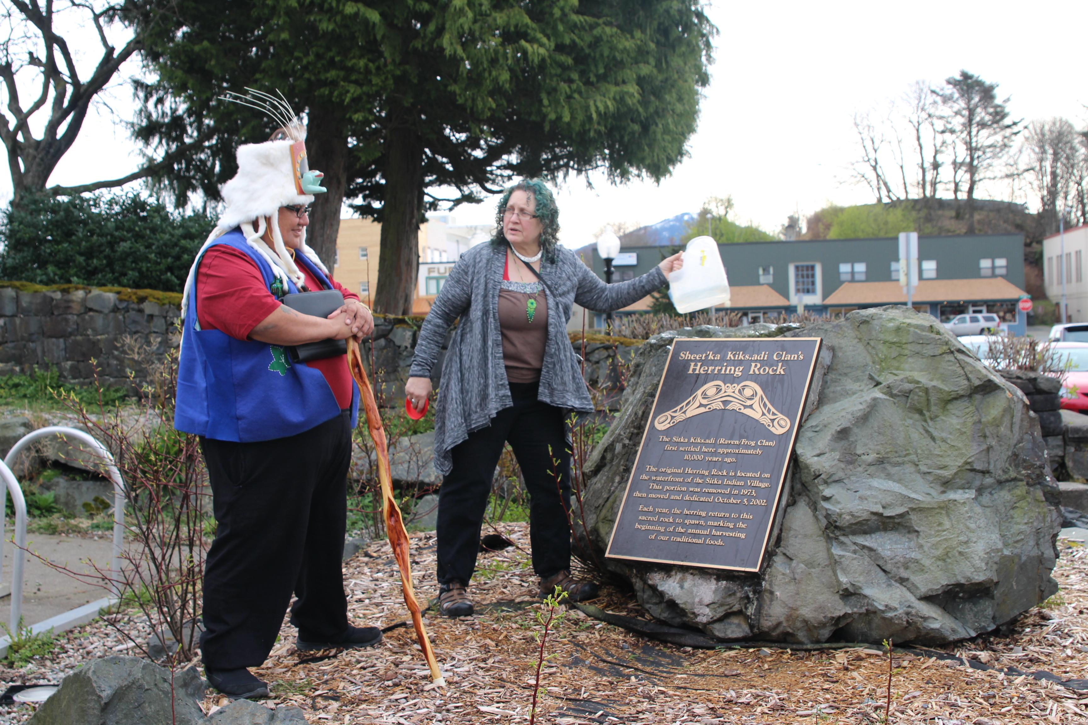 Native ceremony calls fish back