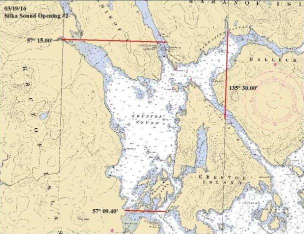 Second herring opening in Krestof Sound