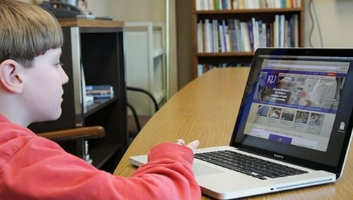 Upwards of 70,000 students were scheduled to take the online Alaska Measures of Progress assessments this month. Those tests are now canceled because of technical issues. (Photo from AAI's website)