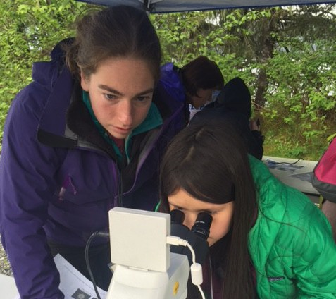 Little scientists examine ecosystems in bioblitz