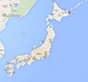 Charming Nemuro, Japan, Population 29,000, Is The Easternmost City In Japan. (Google  Maps)