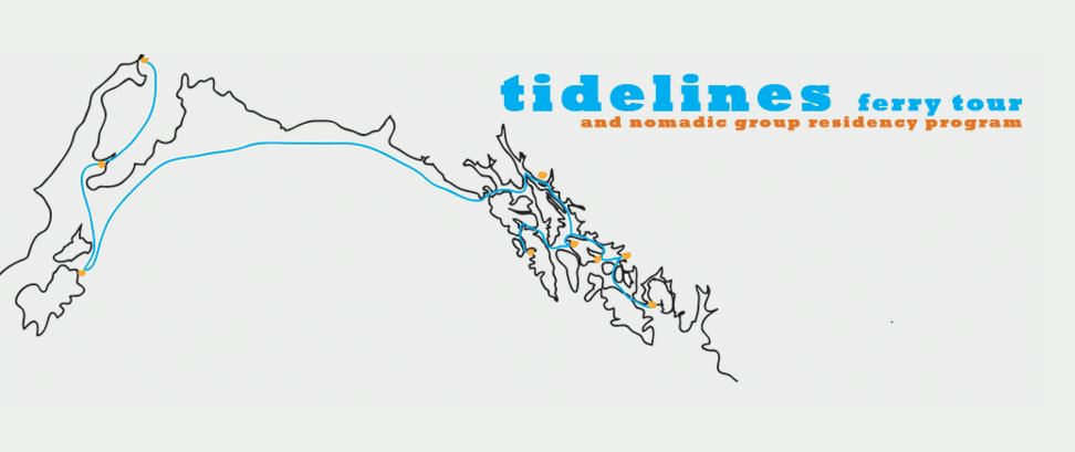 Tidelines offers artists a 'nomadic' climate change residency