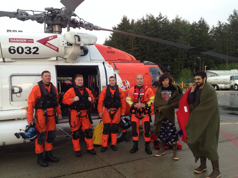 Coast Guard rescues two fishermen near Sitka
