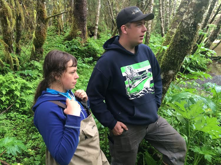 Family restores salmon habitat, one tree at a time