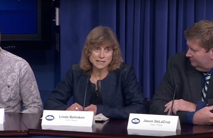 "Linda Behnken honored by White House as ""Champion of Change"""