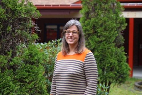 New Mt. Edgecumbe superintendent Janelle Vanasse. (KCAW Photo/Emily Russell)