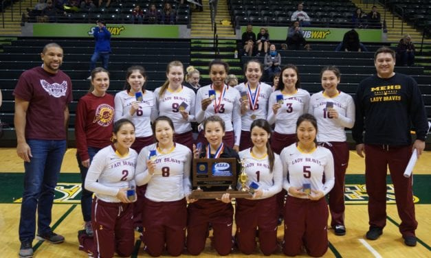Mt. Edgecumbe captures state volleyball title