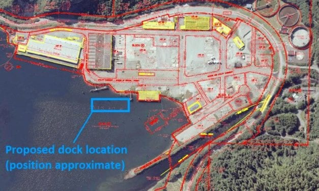 Sitka opts for a floating dock at industrial park