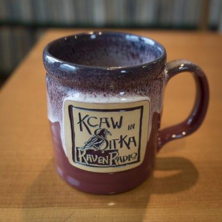 14 oz Mug with Le Raven Noir Design