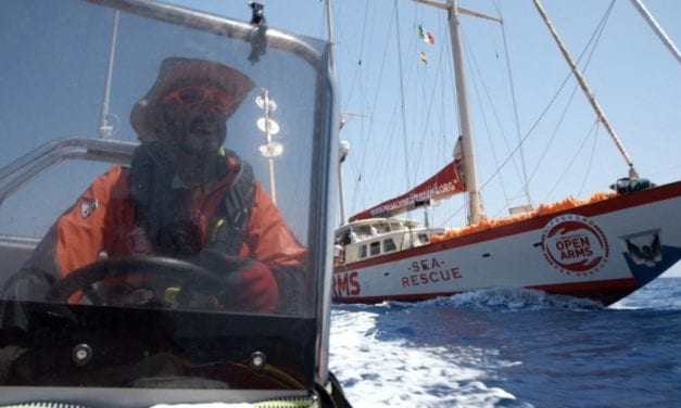 Documentary follows yacht turned rescue boat