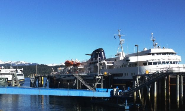 Rust delays ferry Matanuska's return